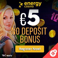 €5 No Deposit Bonus - EN - Banner - 250x250