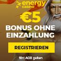 5 EUR No Deposit - DE - Banner - 125x125