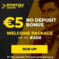 5 EUR No Deposit - Play n' GO - EN - Banner - 250x250