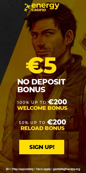 5 EUR No Deposit - Play n' GO - EN - Banner - 300x600