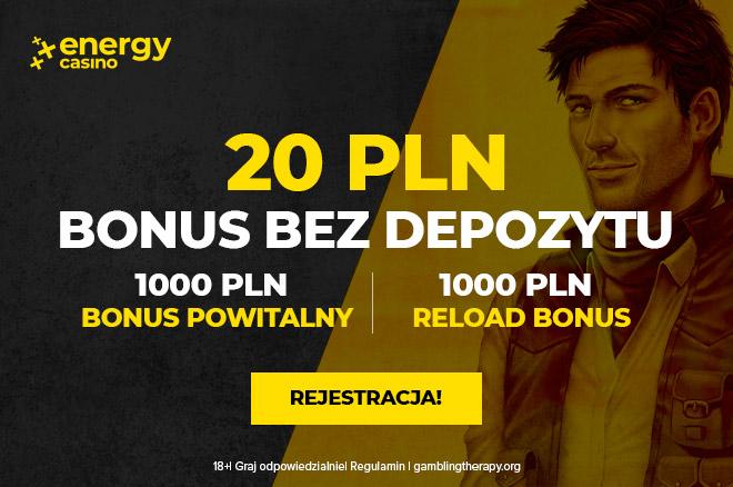 20PLN No Deposit - Play n' GO - PL - Banner - 660x438