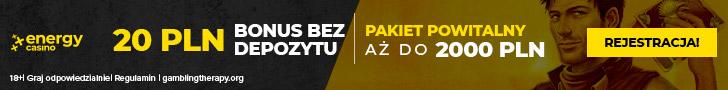 20PLN No Deposit - Play n' GO - PL - Banner - 728x90