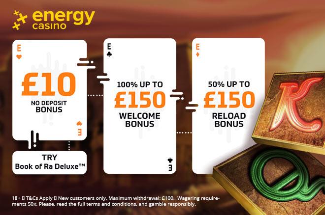 10 pounds energy casino free