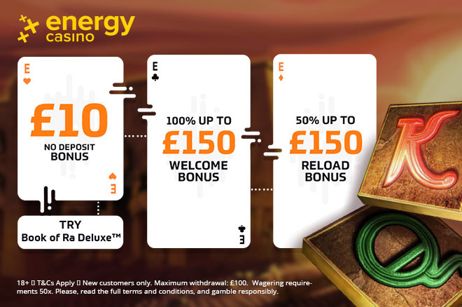 10 pounds energy casino free